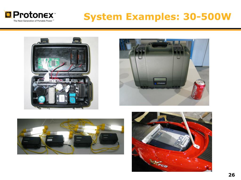 System Examples: 30-500W