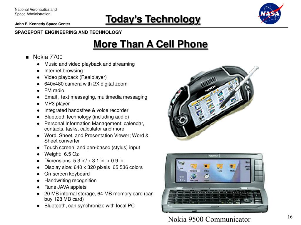 Today's Technology