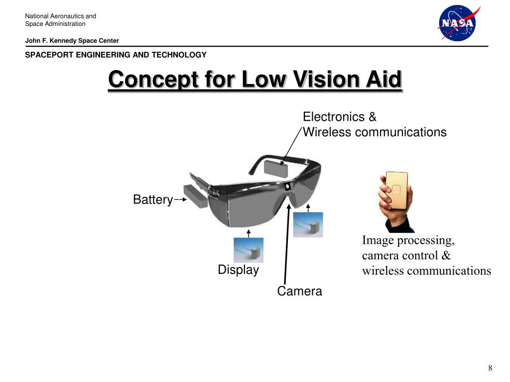 Concept for Low Vision Aid