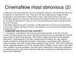 cinemanow most obnoxious 2