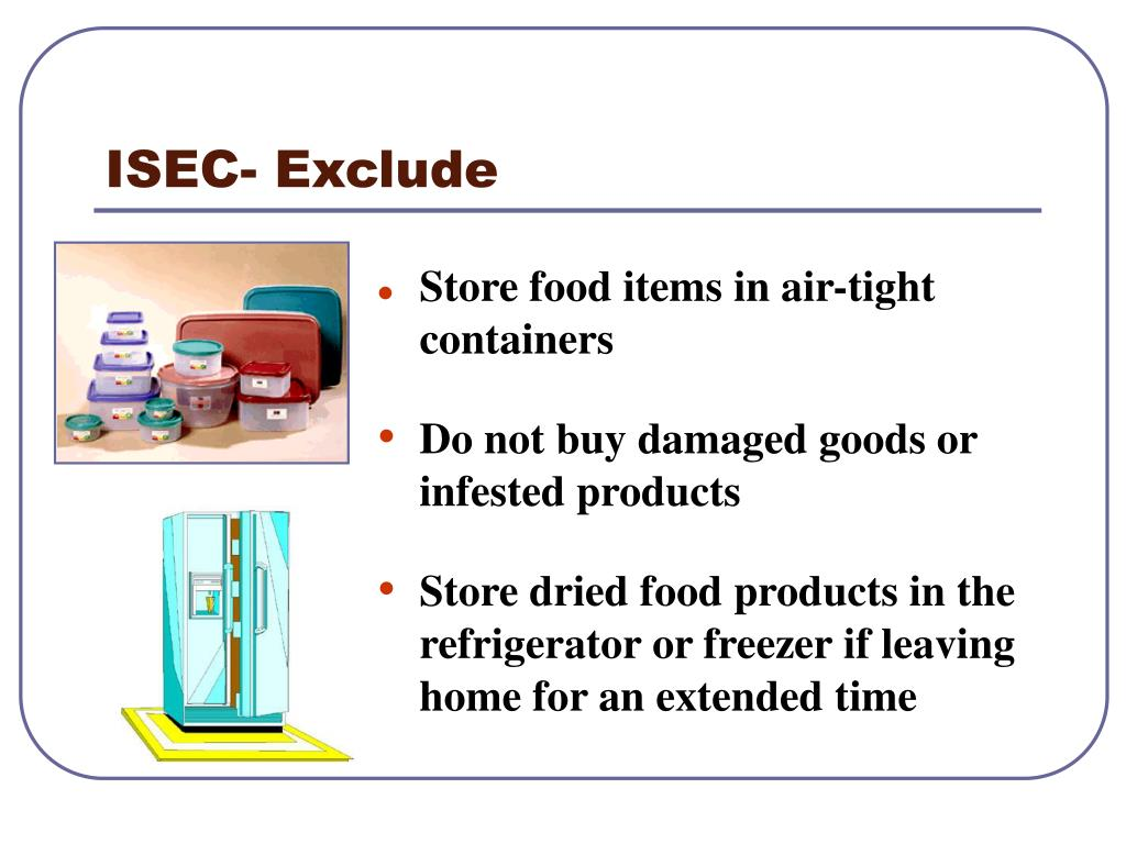 ISEC- Exclude