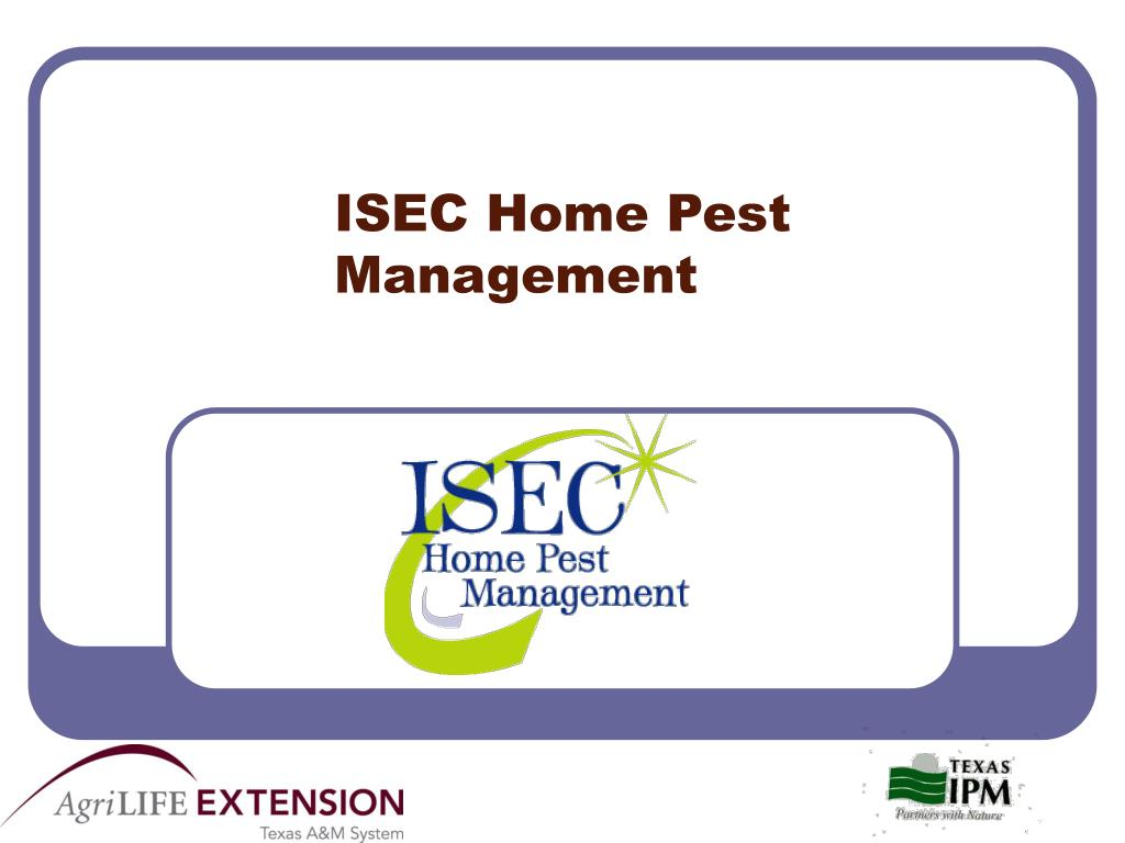 ISEC Home Pest