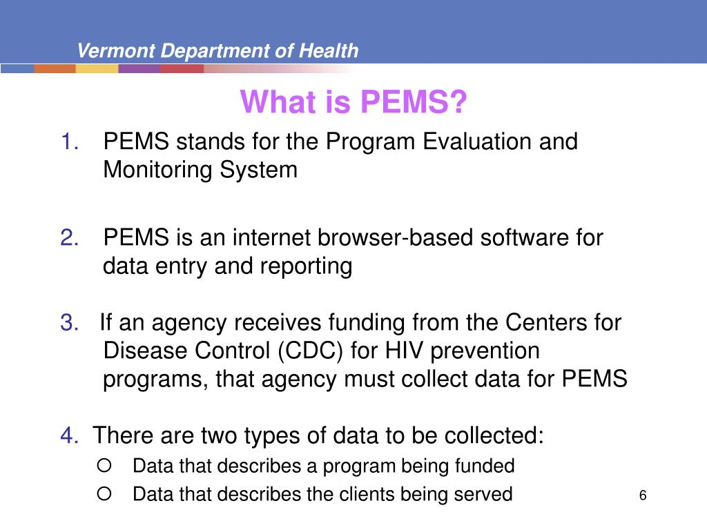 What is PEMS?