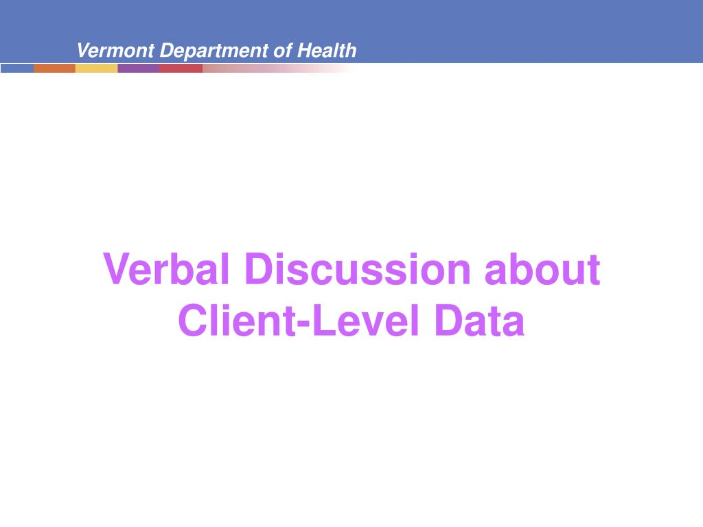 Verbal Discussion about