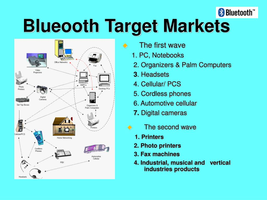 Blueooth Target Markets