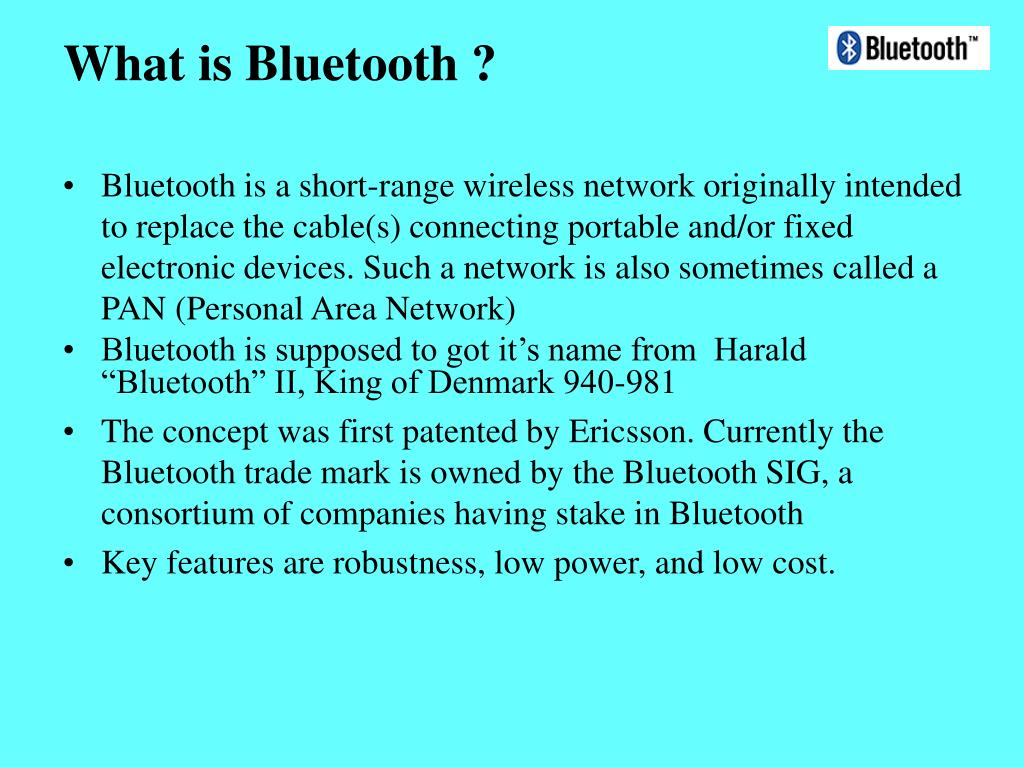 What is Bluetooth ?