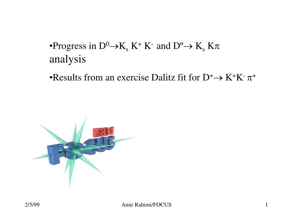 Progress in D