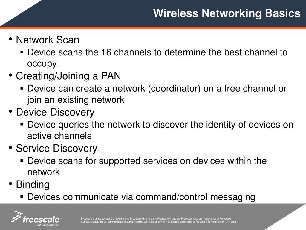 Wireless Networking Basics