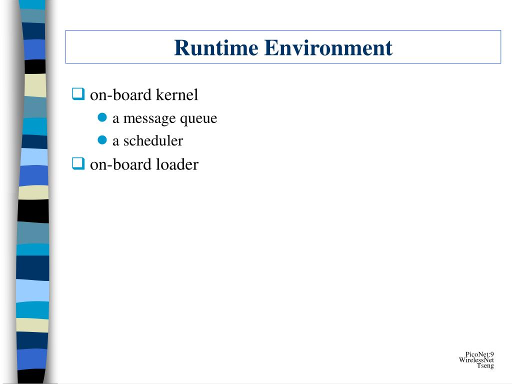 Runtime Environment