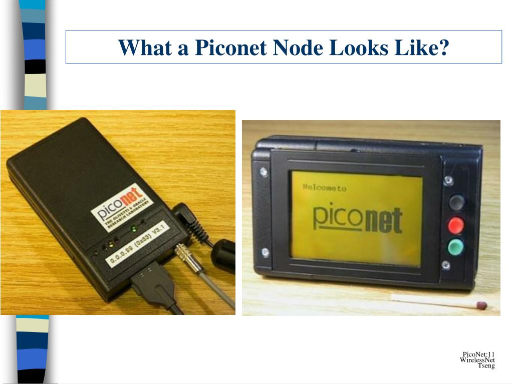 What a Piconet Node Looks Like?