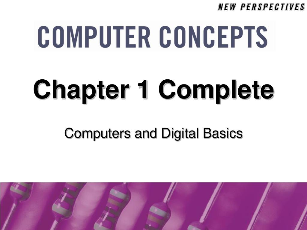 Chapter 1 Complete