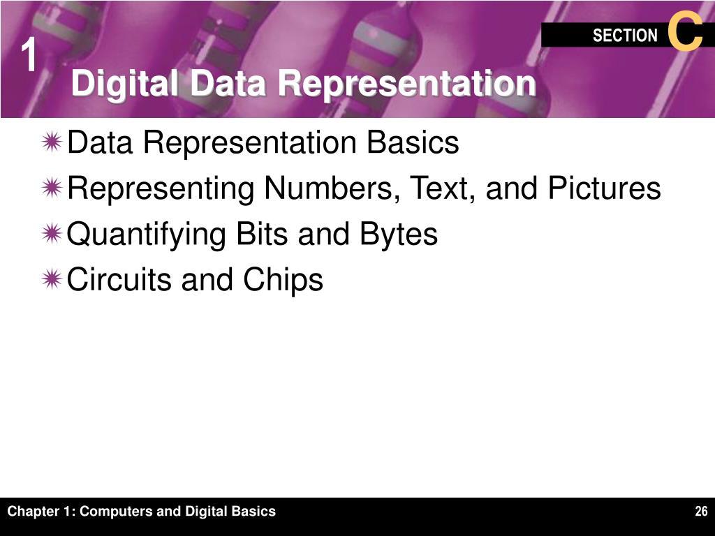 Digital Data Representation