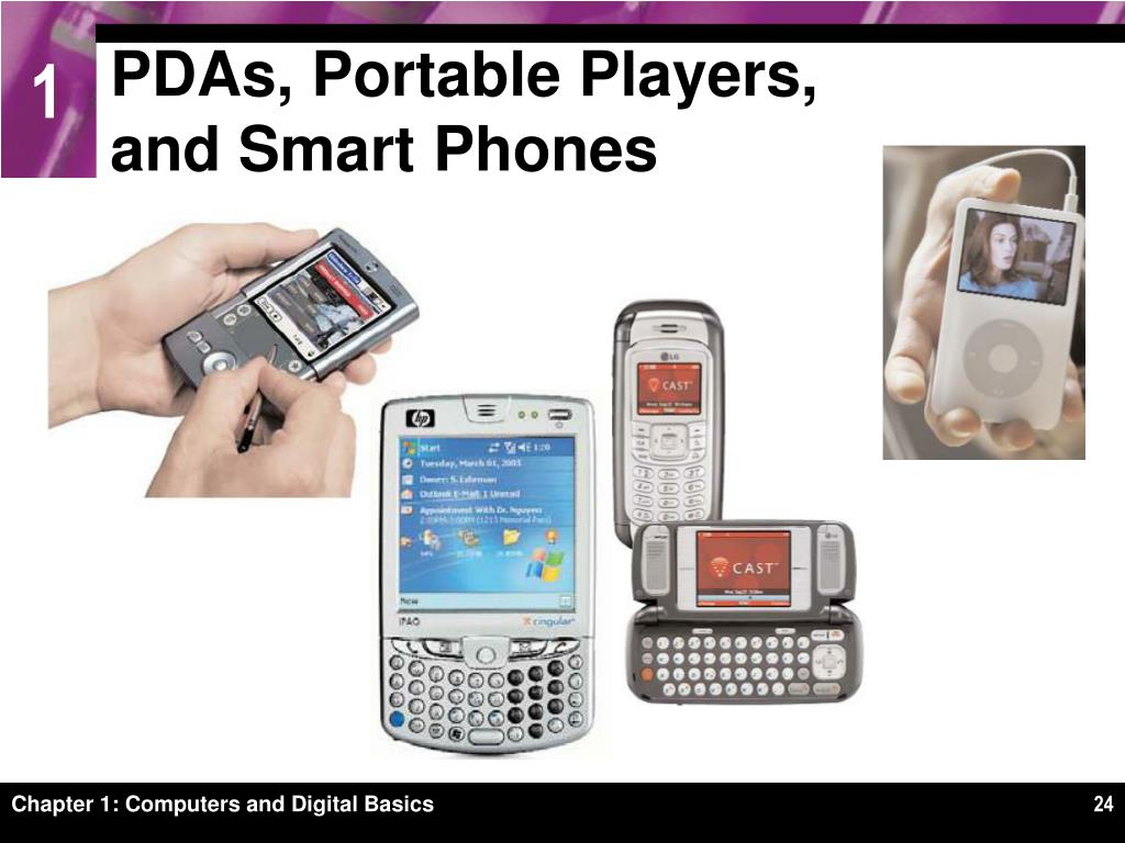 PDAs, Portable Players,