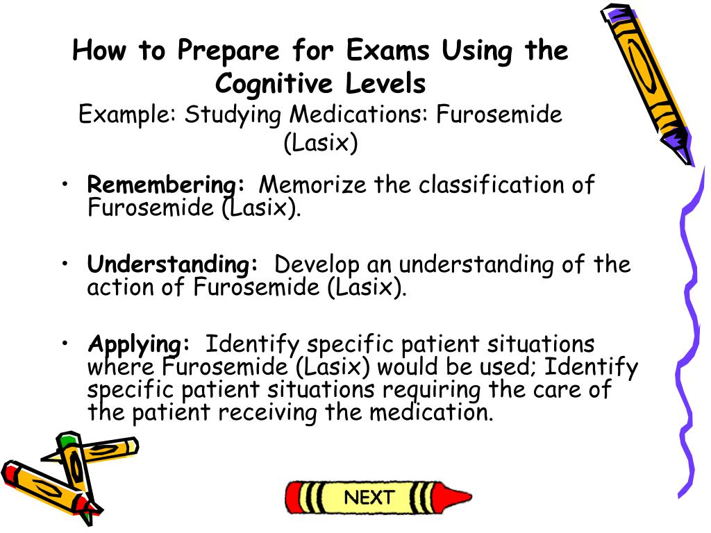 How to Prepare for Exams Using the Cognitive Levels