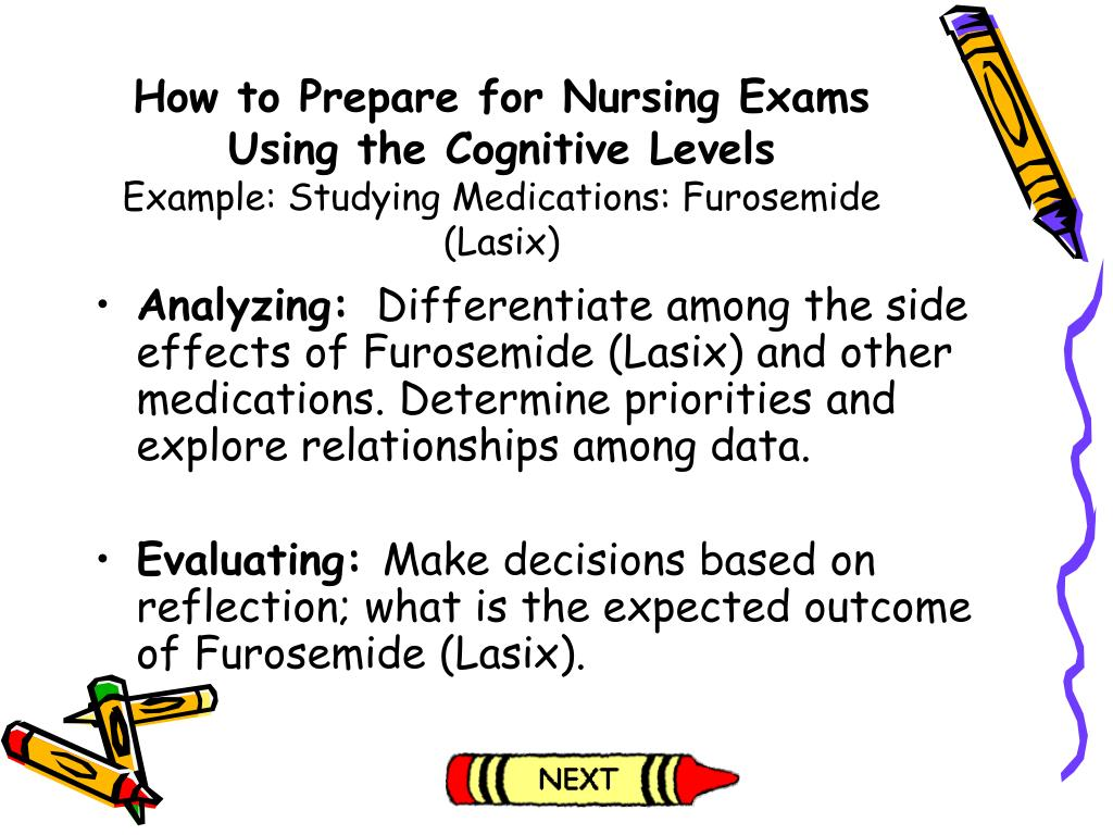 How to Prepare for Nursing Exams Using the Cognitive Levels