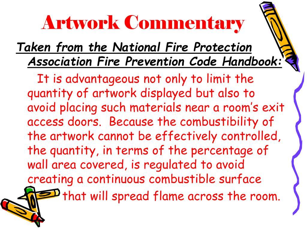 Artwork Commentary