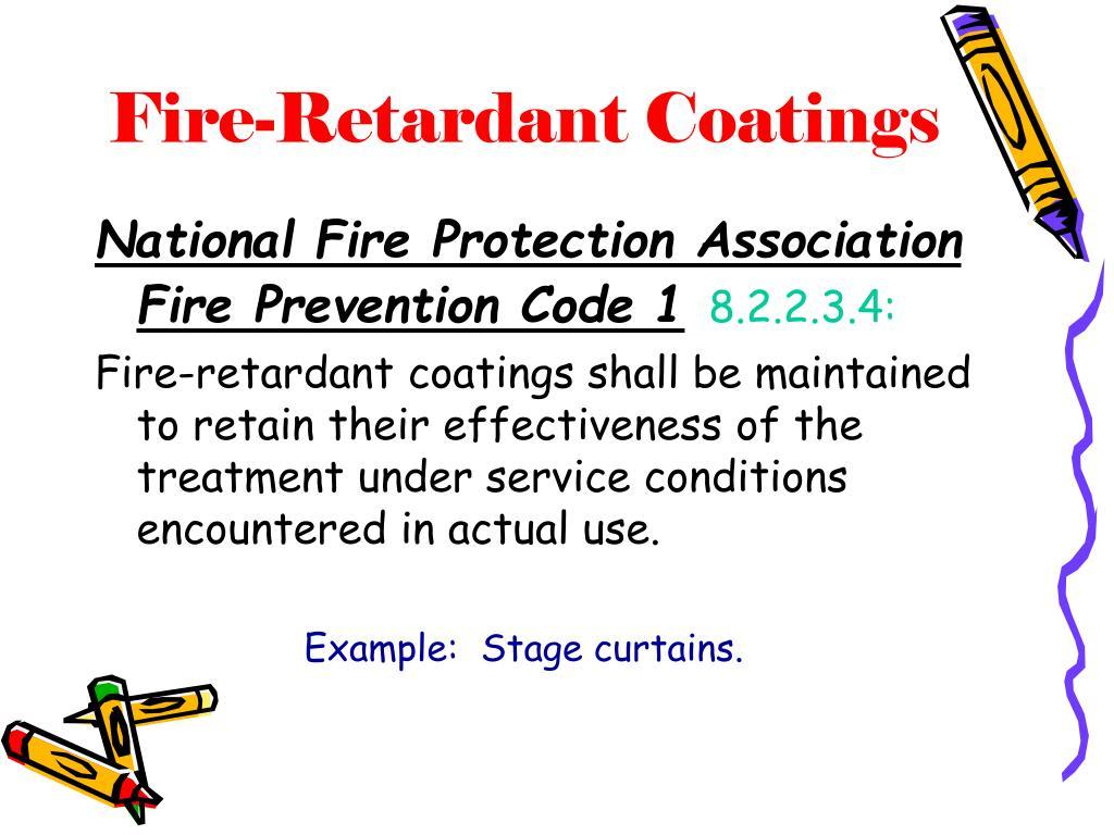 Fire-Retardant Coatings