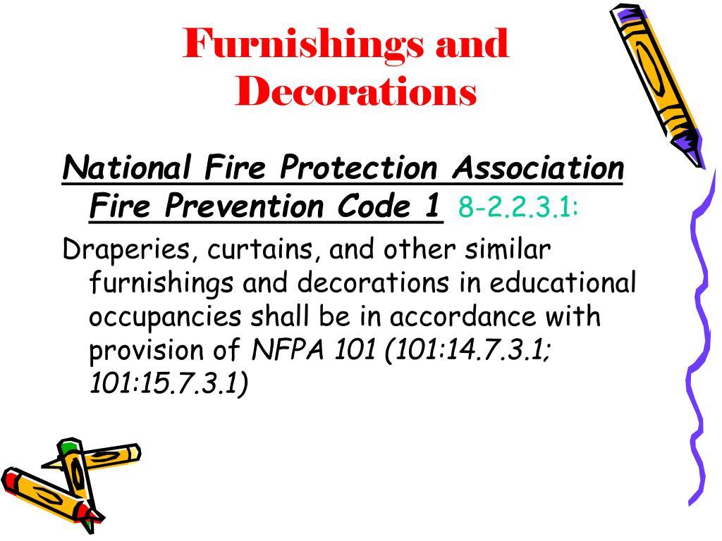 Furnishings and