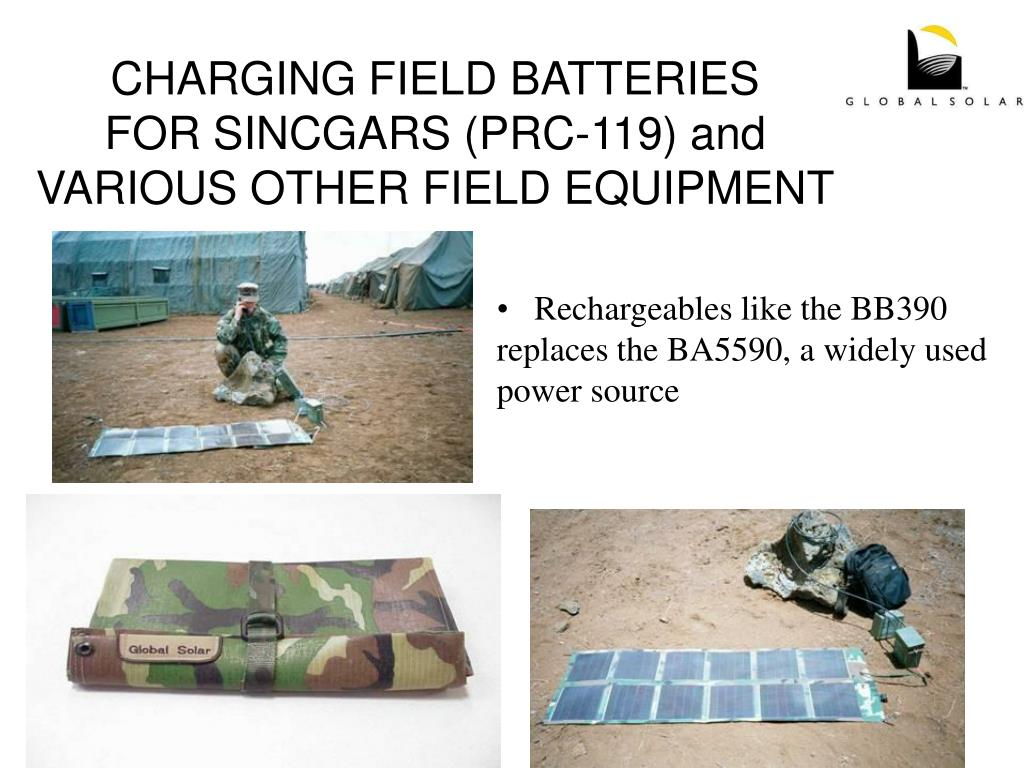 CHARGING FIELD BATTERIES