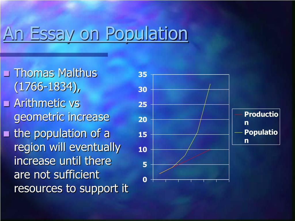 An Essay on Population