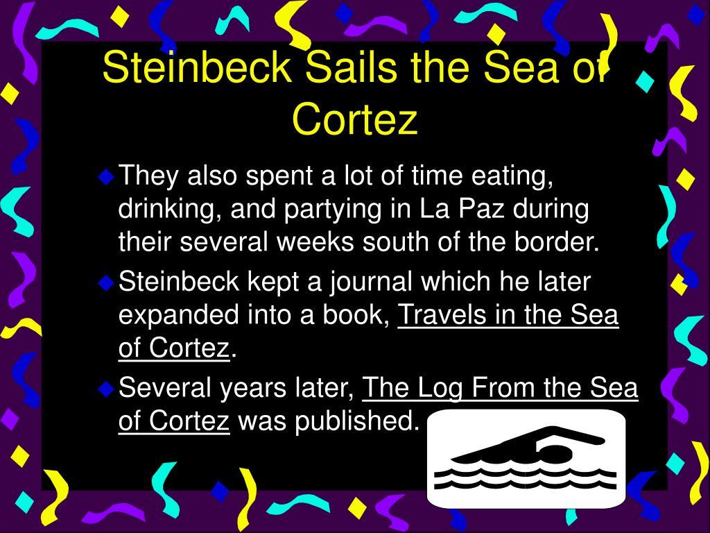 Steinbeck Sails the Sea of Cortez