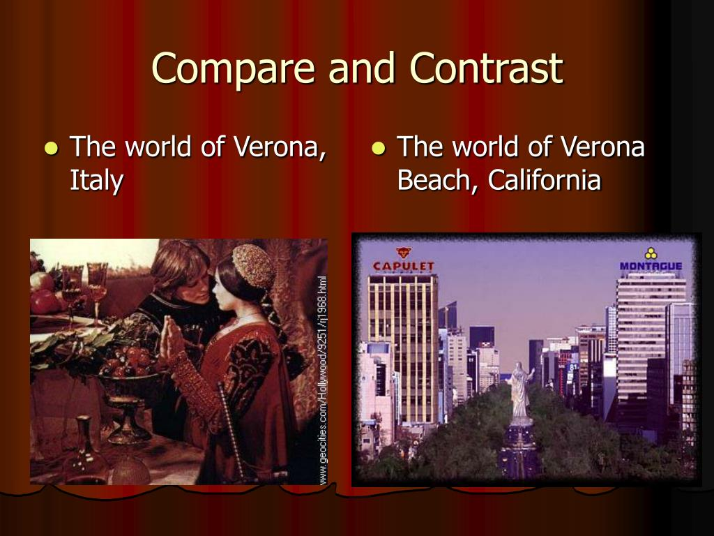 The world of Verona, Italy
