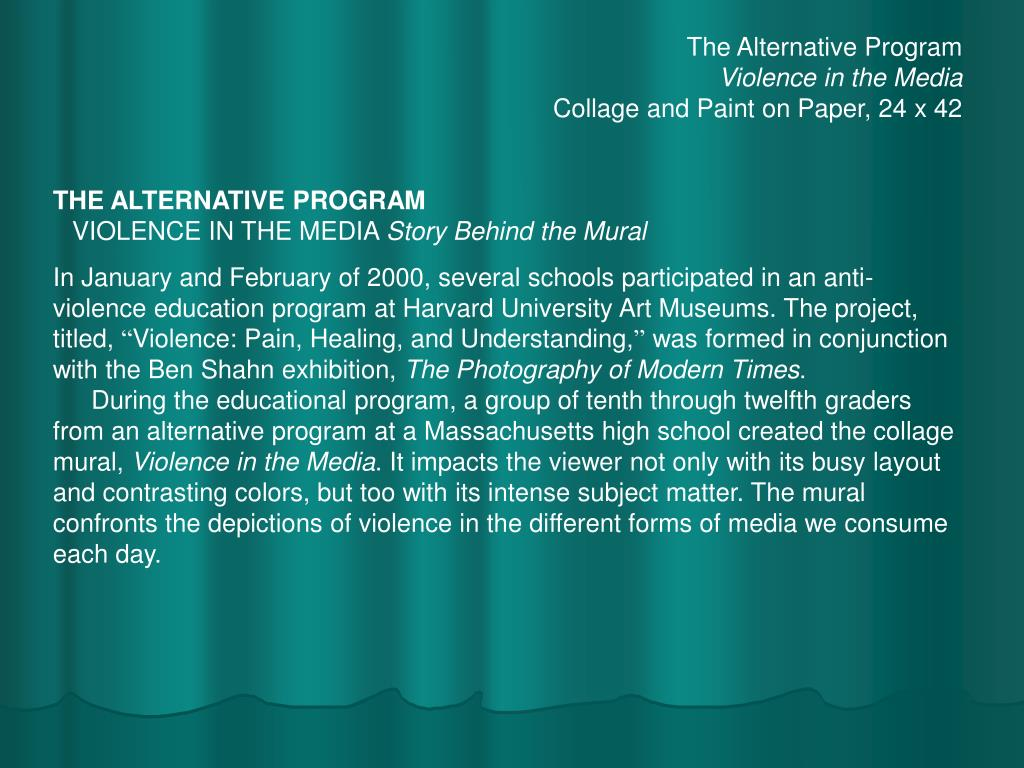 The Alternative Program