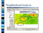 neighborhood analysis32