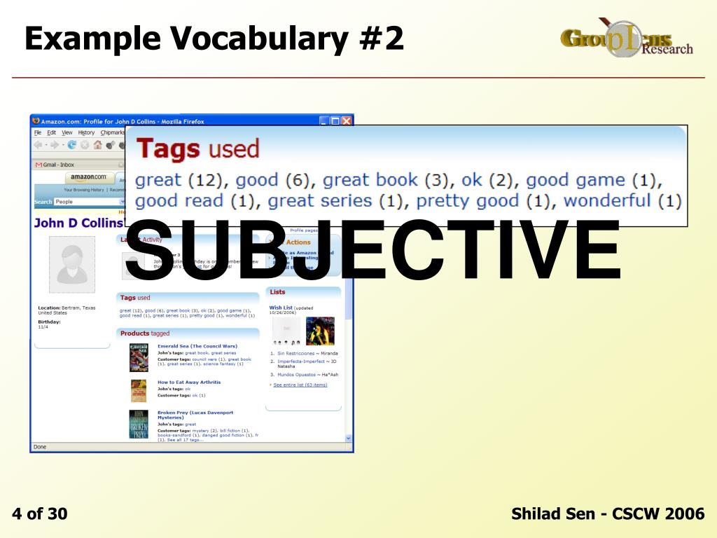 Example Vocabulary #2