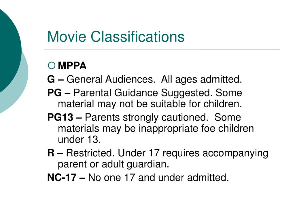 Movie Classifications