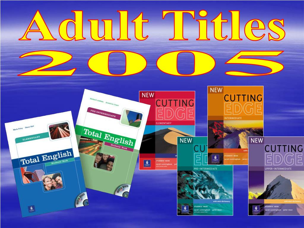 Adult Titles