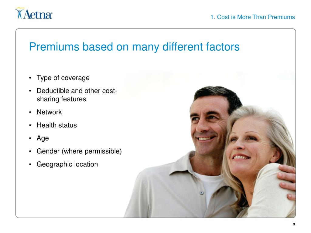 1. Cost is More Than Premiums