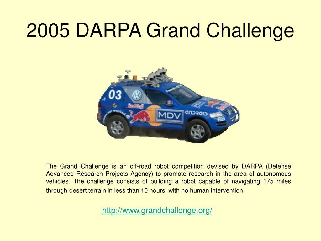 2005 DARPA Grand Challenge
