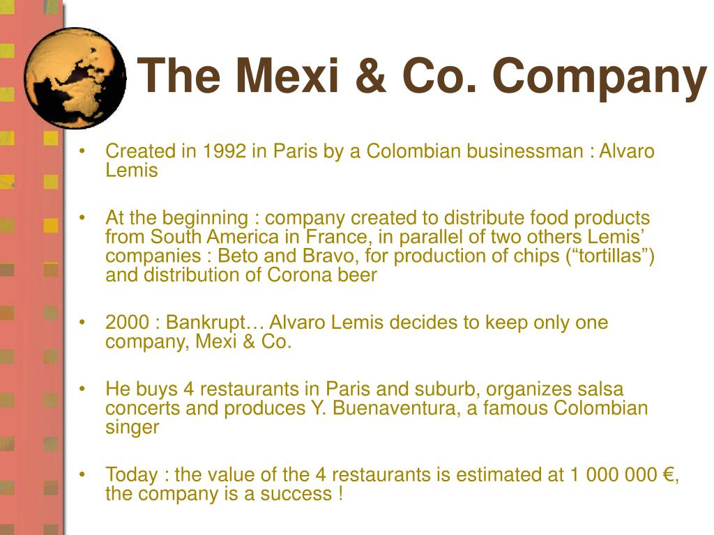 The Mexi & Co. Company