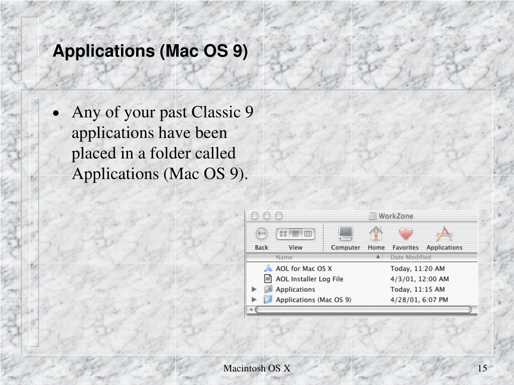 Applications (Mac OS 9)
