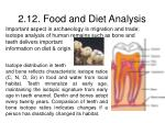 2 12 food and diet analysis