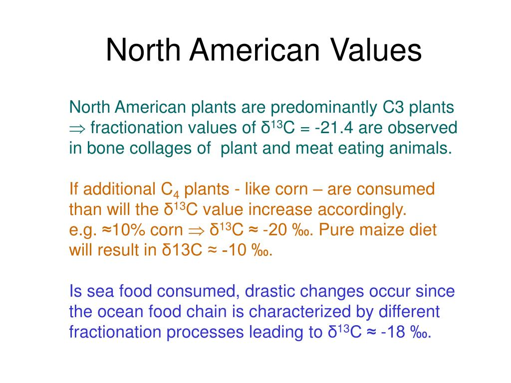North American Values