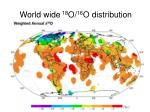 world wide 18 o 16 o distribution