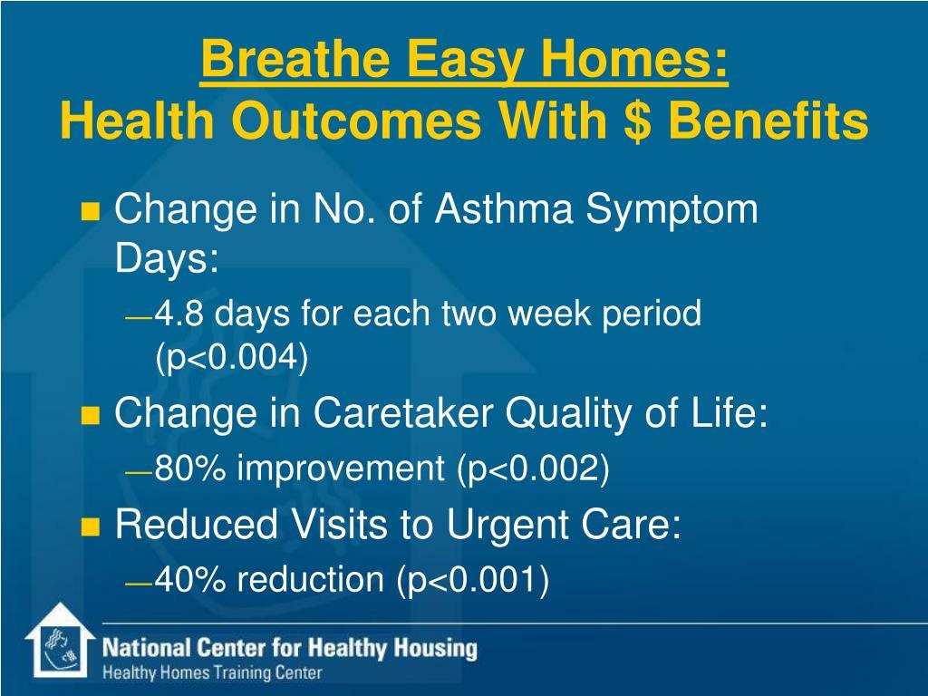 Breathe Easy Homes: