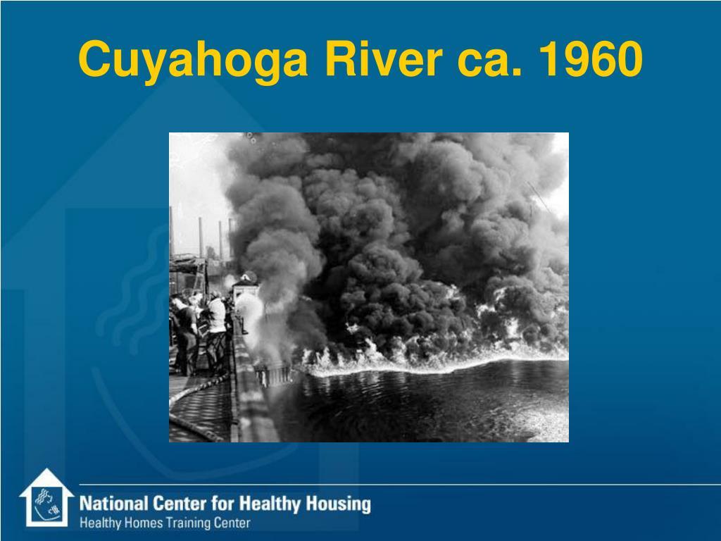 Cuyahoga River ca. 1960