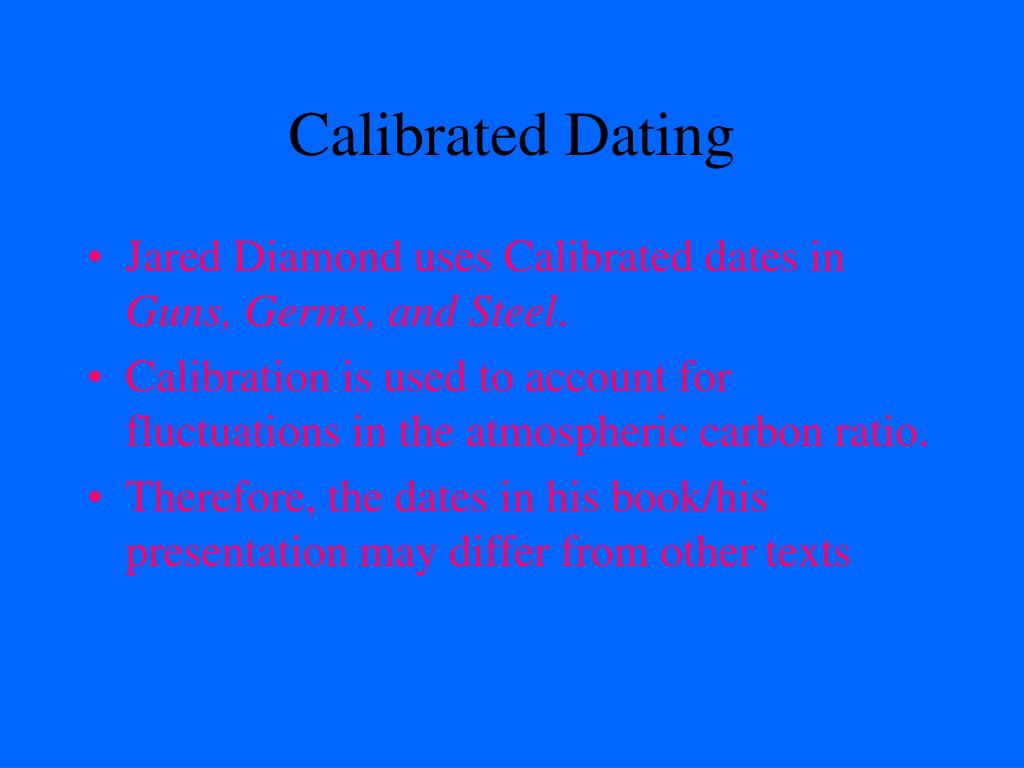 Calibrated Dating