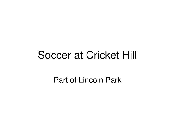Soccer at cricket hill l.jpg