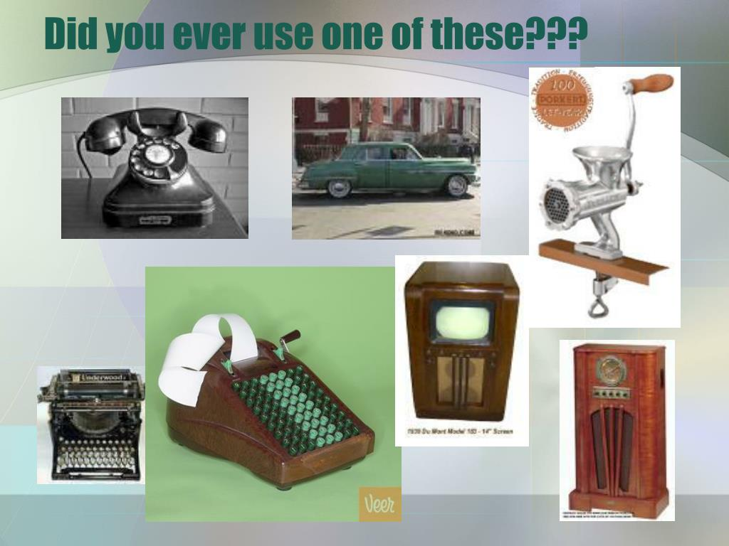 Did you ever use one of these???