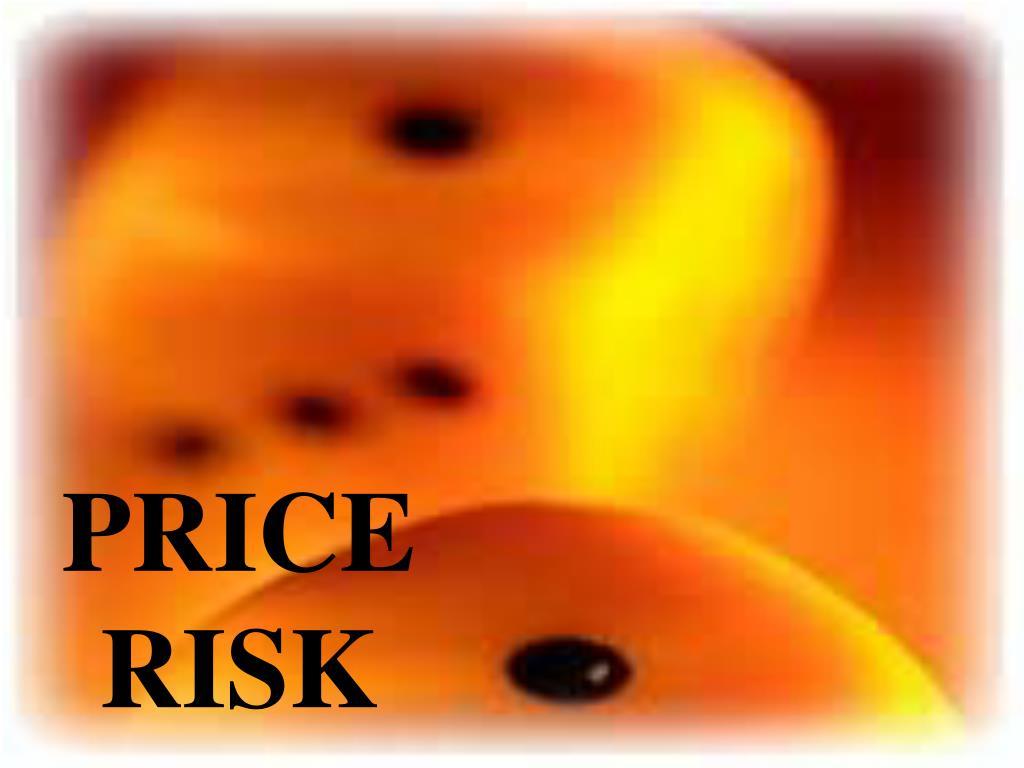 PRICE RISK