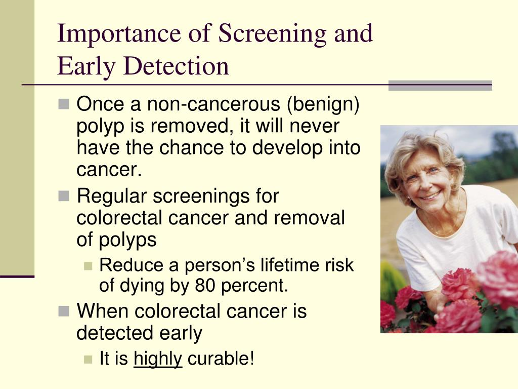 Importance of Screening and
