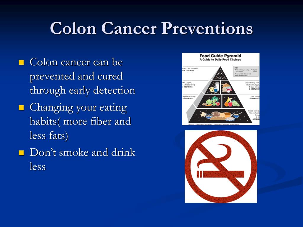 Colon Cancer Preventions