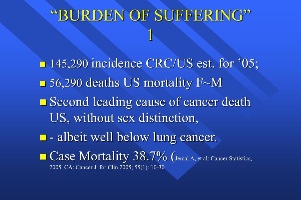 """""""BURDEN OF SUFFERING"""""""