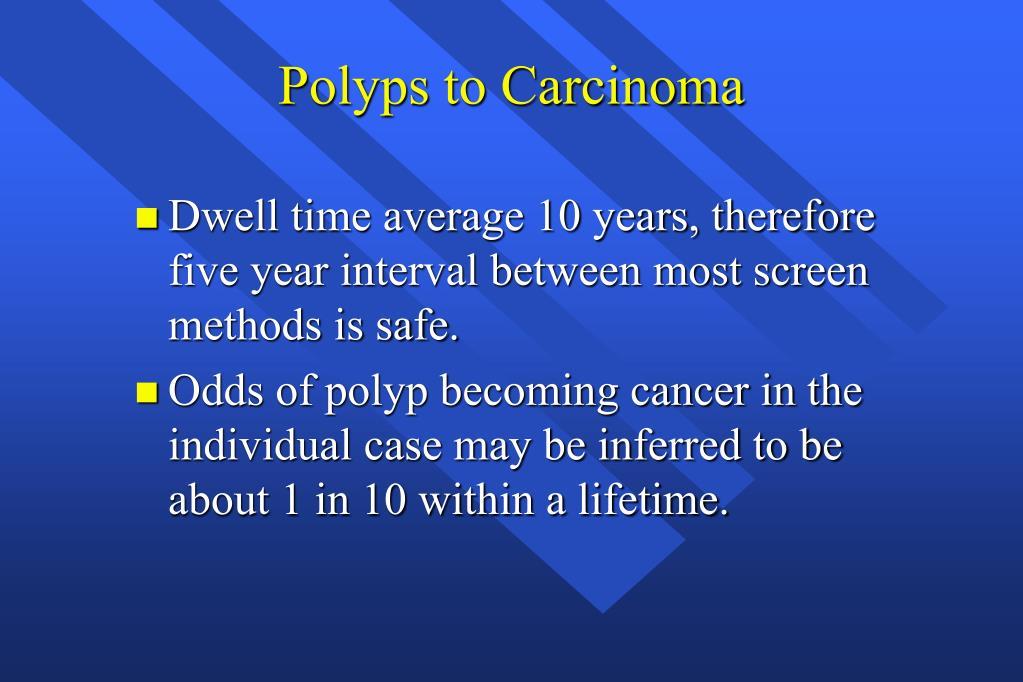 Polyps to Carcinoma