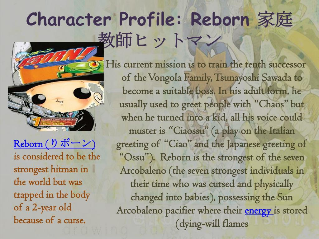 Character Profile: Reborn