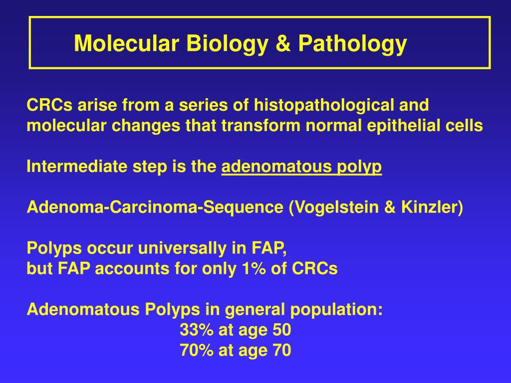 Molecular Biology & Pathology
